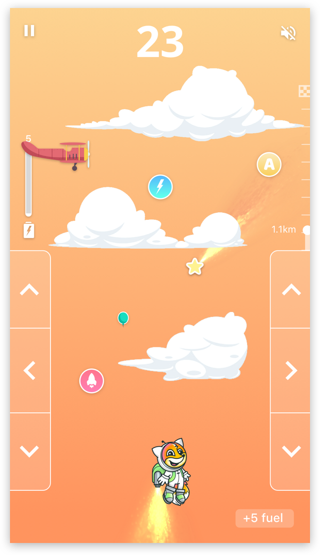 Jetpack game screenshot